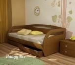 Угловая кровать с ящиком или доп. спальн